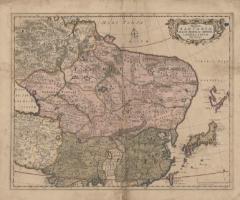 大タルタリア、大モンゴル帝国、日本および中国新図