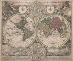 大地の両半球図および両天球図