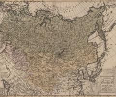 ロシア帝国および大タタール図