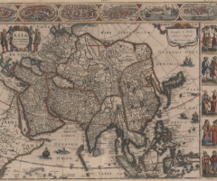 Asia and Japan as Seen from Old European Maps